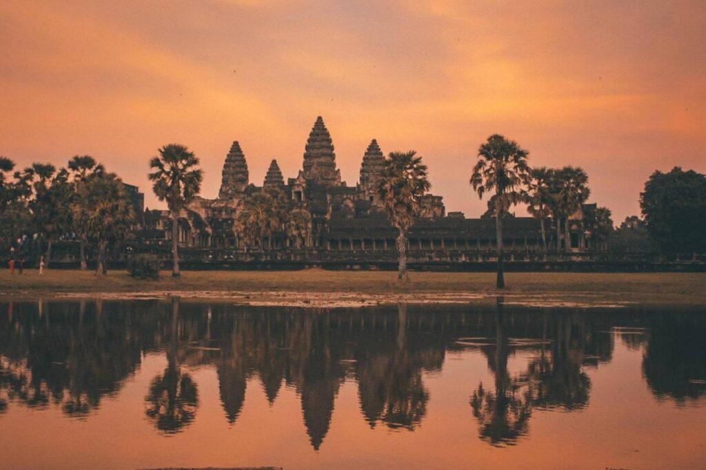 Cambodian Filming Locations at Angkor Wat
