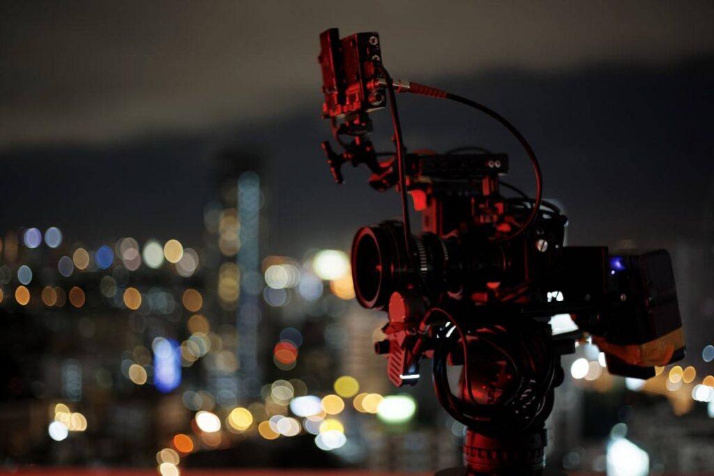 Malaysian Video Production Company Cityscape Background Camera Equipment