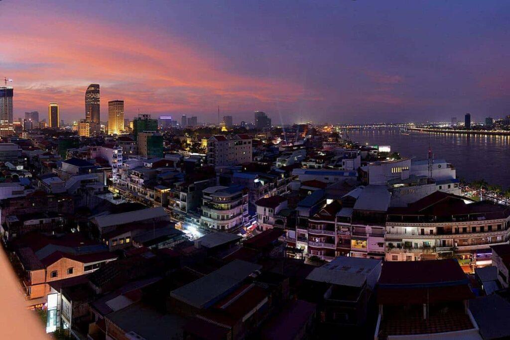 Filming Locations in Phnom Penh   city Cambodia