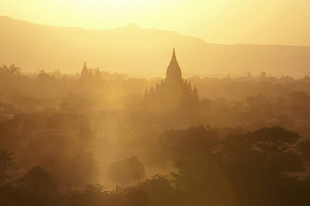 Filming Locations the historic city of Bagan in Myanmar