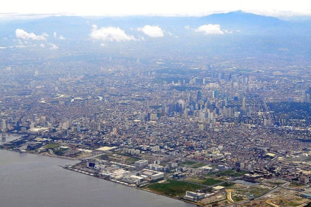 Filming Locations in The Philippine Islands  Manila metropolis city