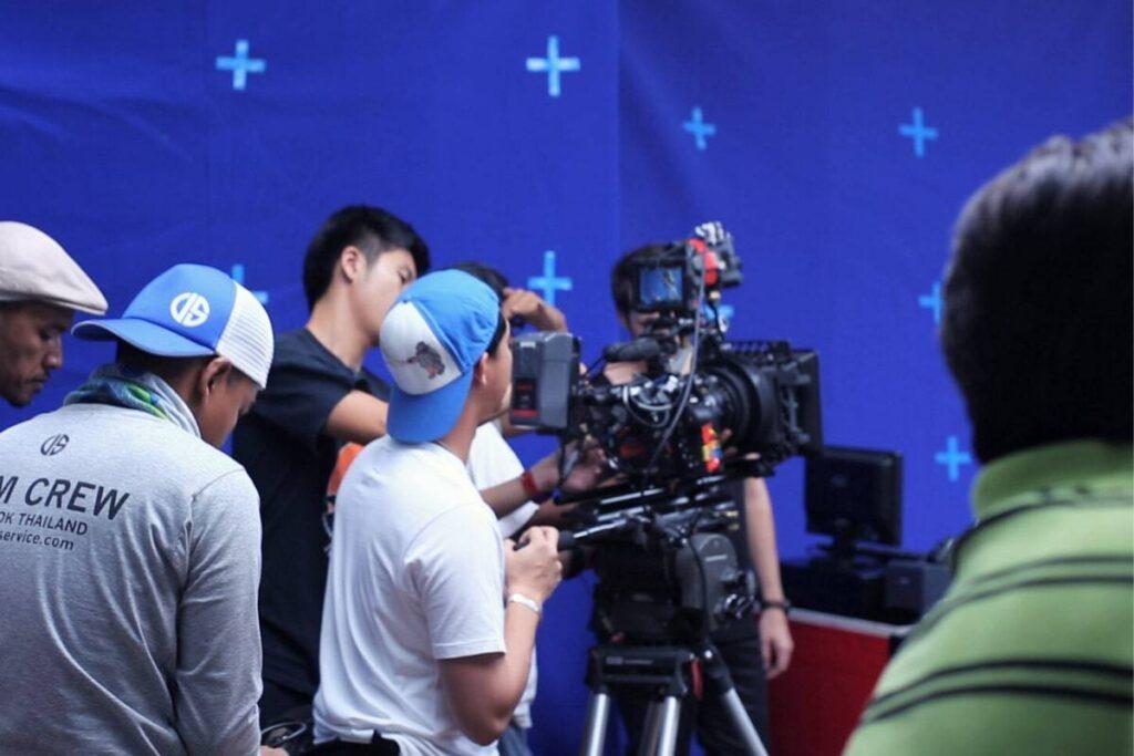 Laos Film Production Crew and Equipment