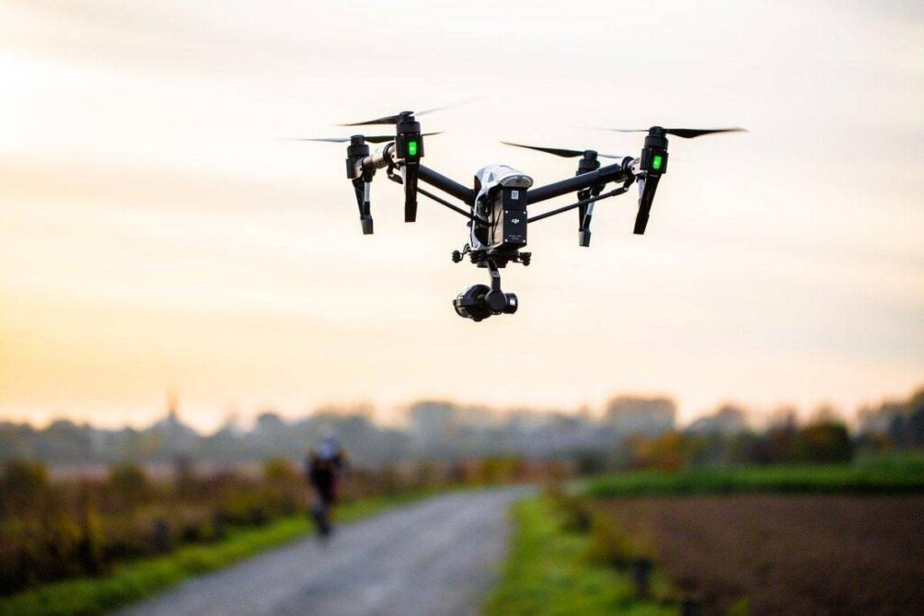 Laos Video Production Company Drone Shot
