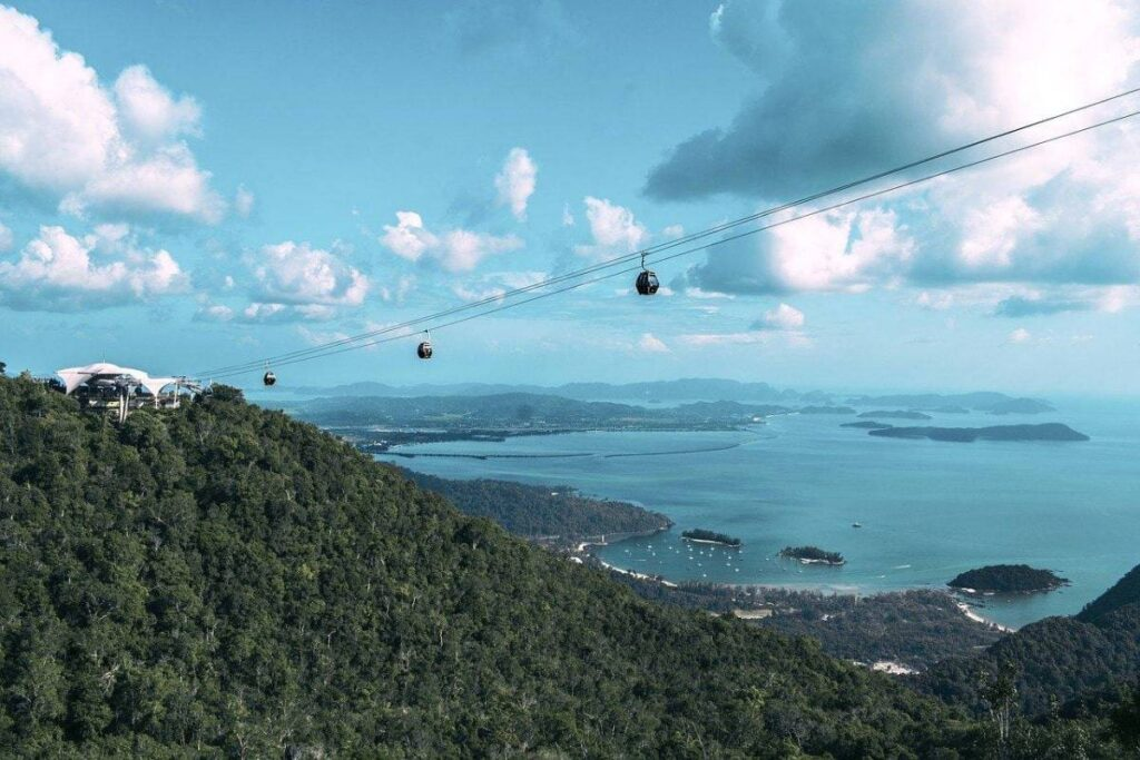Malaysia Filming Locations at  Langkawi's Island