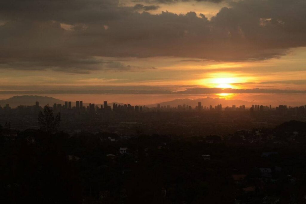 Philippine Video Production Location at viewpoint of Manila's city
