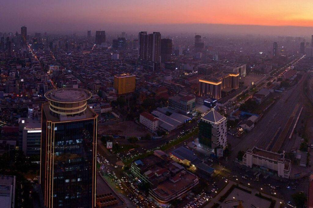 Cambodian Filming Locations at  Phnom Penh
