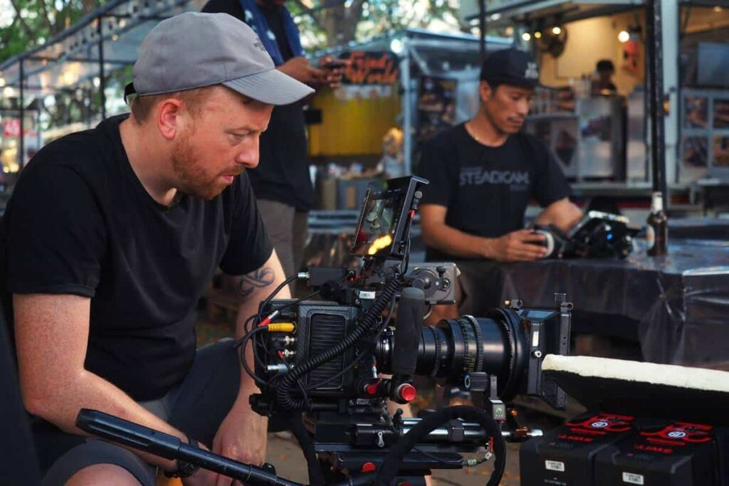 Production Crew and Equipment in Cambodia