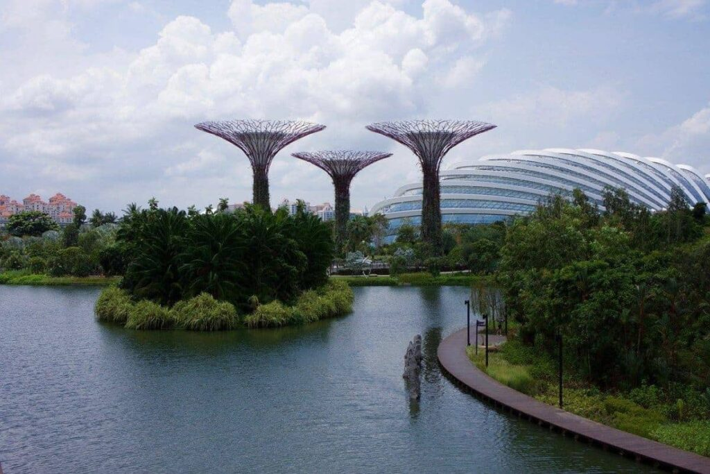 Singapore Video Production Locations at Botanical Gardens