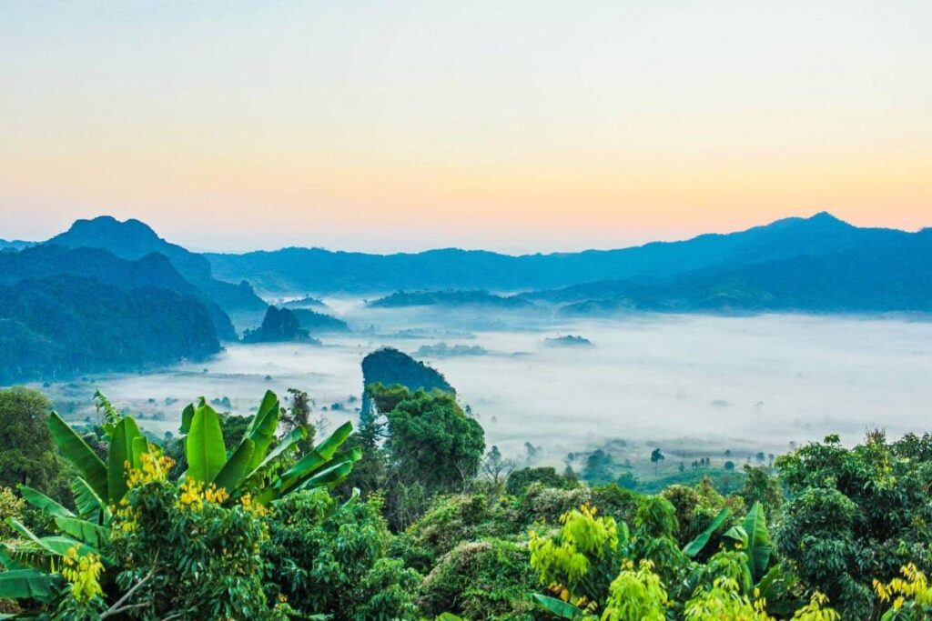 Thailand's lush greenery and wide array of landscapes for Film Production