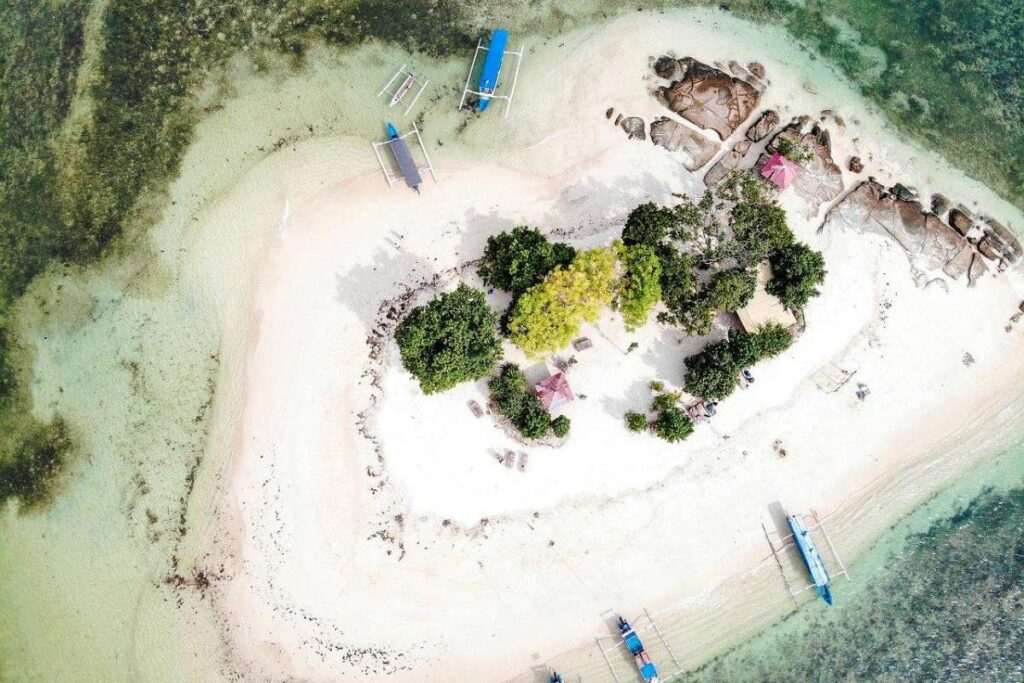 Video Production in Indonesia Drone footage at Lombok Gili