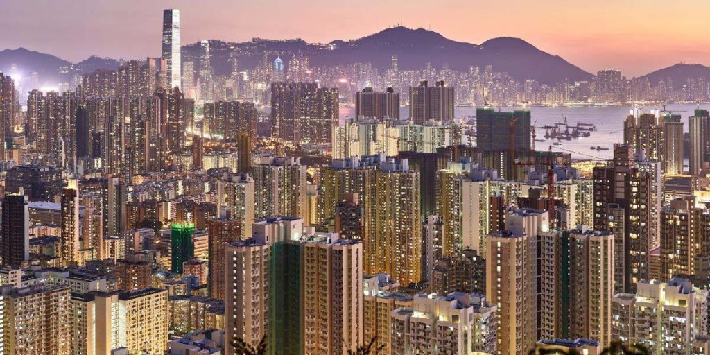 Film Fixer Wind Up Films Hong Kong Skyline Skyscrapers
